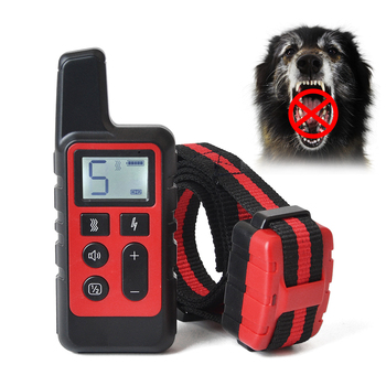 Dog Training Collar Vibrate & Electric Shock Collar Rechargeable Waterproof Remote Shock Collars For Dogs Behavioral Training 1