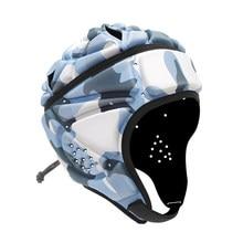 Air Rugby Headguards,Soft Helmet Scrum Cap,7v7 Flag Football Headgear for Adult Large