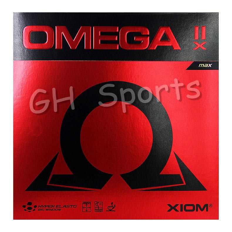 Новинка XIOM OMEGA 2X (Omega IIX), резиновая губка для настольного тенниса, для пинг-понга, тенниса