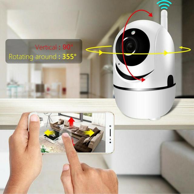 720P WiFi IP Camera Home Security Baby Monitor Clever Dog CCTV Night Vision Motion Detection And Alarm Security Indoor Camera 5