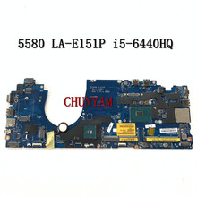 Laptop Motherboard Mainboard NOTEBOOK Latitude LA-E151P Dell NEW FOR 5580 Cn-0f3f59/F3f59/Mainboard/..