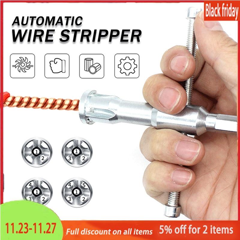 Автоматическое устройство для зачистки, двойной электрический скручиваемый разъем, устройство для электрических линий, устройство для зач...