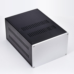 Multipurpose All aluminum chassis Amplifier audio case Power supply shell DIY box 221.5*150*311MM