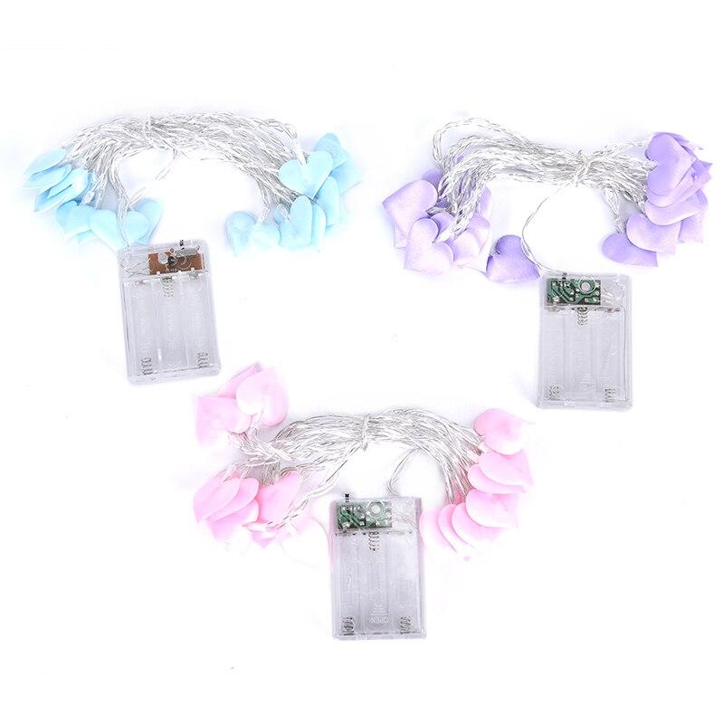 1.5/3M Led LED Love Heart Wedding String Fairy Light Christmas Party Led String Light