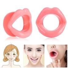 Outil de Lifting des lèvres, en caoutchouc de Silicone, pour resserrer les muscles de la bouche, Anti-rides, Fitness, Massage de beauté