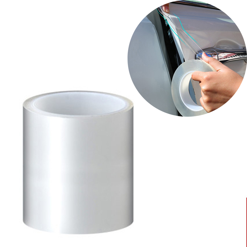 Car Door Edge Protector Sticker Auto Strip PVC Film Transparent Anti Collision Edge Guard Scratch Protector Mirror Film Protect