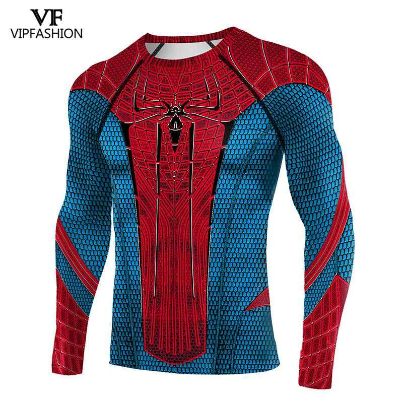 VIP FASHION 2020 NEW Anime Super Heroes Avenger Raglan Sleeve Spider Amazing Men 3D Printed T-shirts