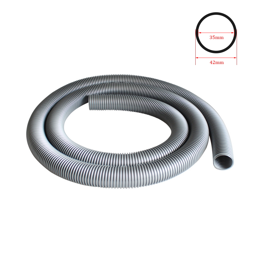 Inner 35mm/outer 42mm Vacuum Cleaner Thread Hose/Bellows/Straws/Soft Pipe Durable Flexible Replacement Vacuum Tube