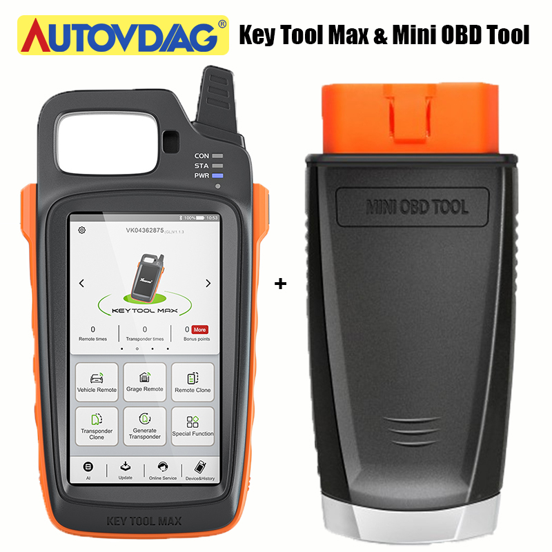 Xhorse VVDI Key Tool Max Xhorse VVDI MINI OBD Tool Car Programmer Key Programmer Remote Support Work With Condor Dolphin XP005