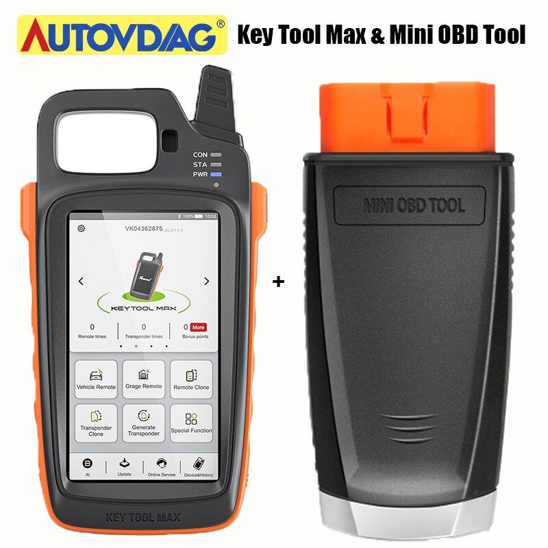 Xhorse VVDI Key Tool Max Xhorse VVDI MINI OBD Tool Car Programmer Key Programmer Remote Support Work With Condor Dolphin XP005
