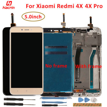 Lcd Display For Xiaomi Redmi 4X Lcd Screen Display+Touch Screen With Frame Replacement for Redmi 4X 4 X Pro Lcd Screen wholesale new laptop a1707 lcd led screen for macbook pro pro 15 4 a1707 lcd display screen panel late 2016 mid 2017 year