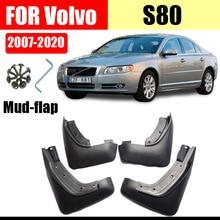 for volvo s80 Mud flaps mudguards fender S80 Mud flap splash Guard Fenders Mudguard car accessories Front Rear 4 pcs цена