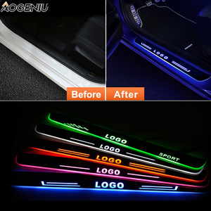 Image 2 - LED Door Sill For Honda INSIGHT ZE 2009 Door Scuff Plate Entry Guard Welcome Light Car Accessories