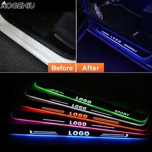 Image 2 - Umbral de puerta LED para Honda INSIGHT ZE 2009, placa de desgaste de puerta, protector de entrada, luz de bienvenida, accesorios para coche