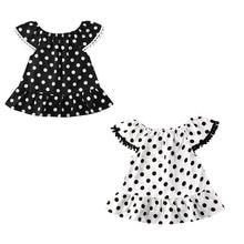 Baby Girl Dress New Summer Toddler Kids Baby Girl Polka Dot Ruffle Party Pageant Tutu Dress Girl Sundress ruffle detail dot textured embroidery dress