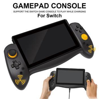 Controlador inalámbrico para Nintendo Switch NS, dispositivo ergonómico con inducción de gravedad de giroscopio de seis ejes para Nintendo Switch