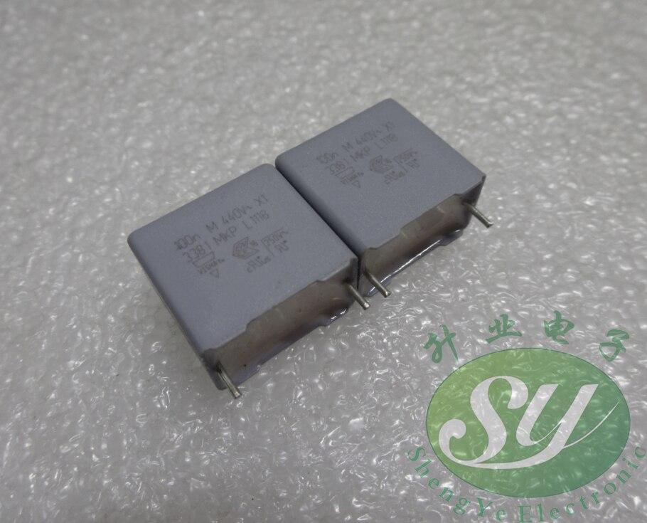 50pcs VISHAY MKP338 Series 0.1uf/440Vac 100NF U1 104 New X1 Capacitors 15Mm Free Shipping