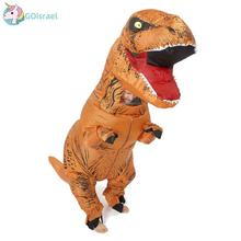 T-Rex Trex Inflatable Costume Unisex Suitable for adults and children Leotards Party Carnival Christmas Halloween Cosplay