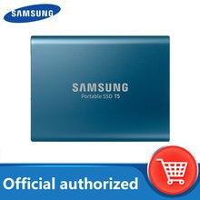 SAMSUNG T5 zewnętrzny dysk SSD USB3.1 Gen2 (10 gb/s) 250GB 500GB dysk twardy zewnętrznych w stanie stałym 1TB 2TB dysk twardy dyski do laptopa tablet