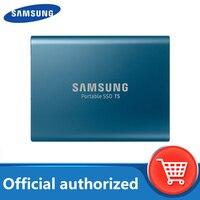 SAMSUNG T5 Externe SSD USB 3,1 Gen2 (10Gbps) 500GB 250GB Festplatte Externe Solid State 1TB 2TB HDD Sticks für Laptop tablet
