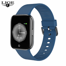 2019 New Color OLED smart watch men women For iPhone Heart rate blood pressure fitness tracker IP68 waterproof sport smartwatch