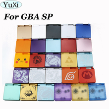 YuXi 1Set For GameBoy Advance SP Limited Edition Replacement Housing Shell For GBA SP Transparent Clear Housing Case Cover