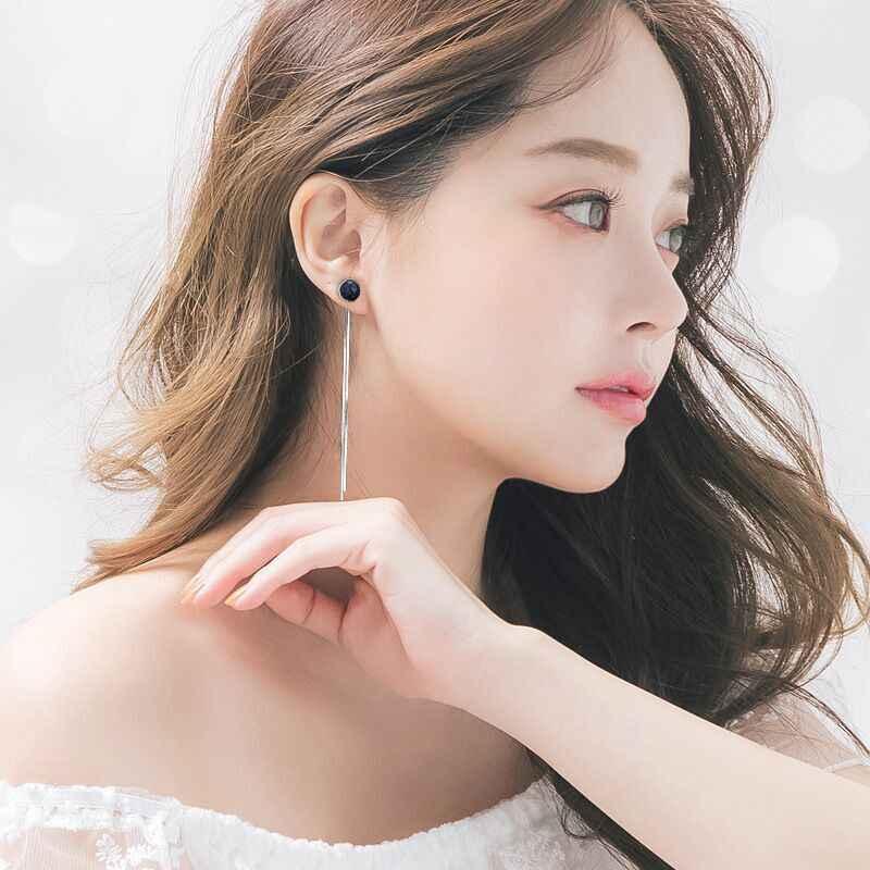 Moda longo borlas brincos grande linha de orelha para as mulheres pendurado balançar brincos gota earing moderno jóias femininas