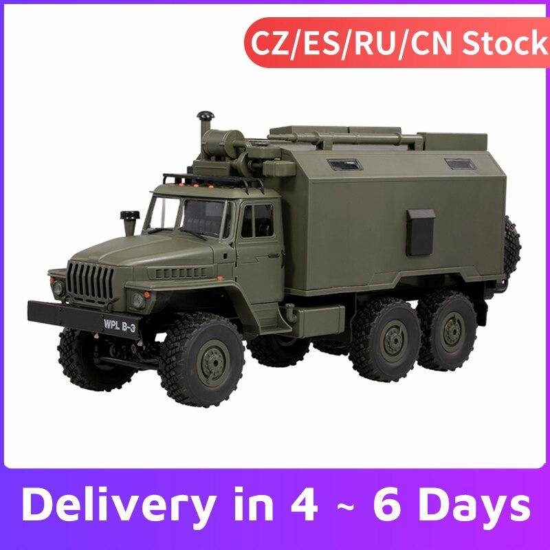 WPL B36 1:16 RC askeri komuta aracı 2.4G 6WD ordu arabalar hediye çocuklar RC oyuncak arabalar çocuklar için