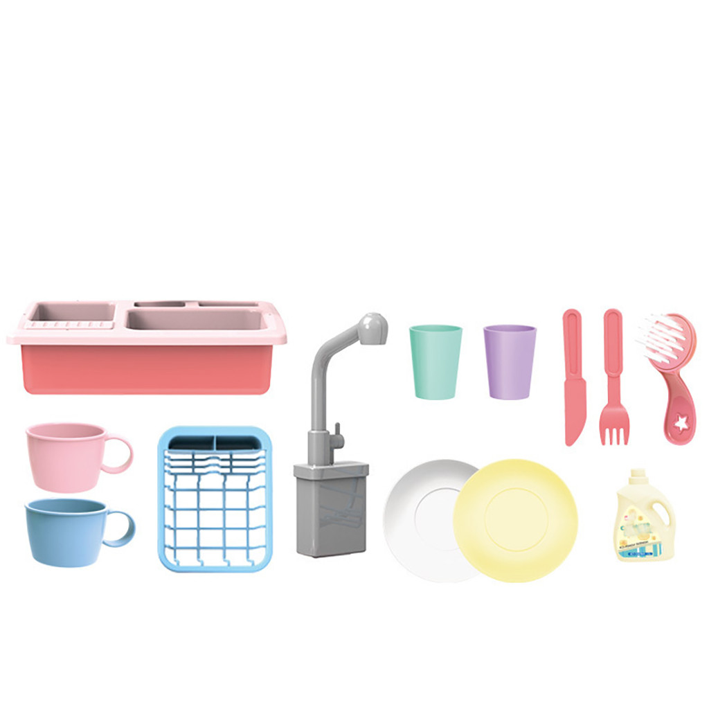 Ultimate SaleKitchen-Sink-Toys Pretend Play Color-Changing Heat-Sensitive Girls Children's Dishwash