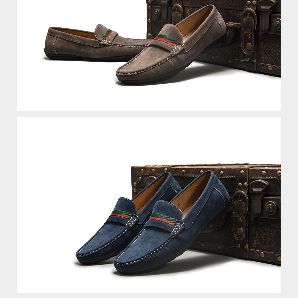 H7c2dda45a8e94cada84ab5cc4476bcecM Men Loafers shoes 2020 Autumn Fashion Moccasins Footwear Suede Slip-On Brand Men's Shoes Men Leisure Walking Men's Casual Shoes