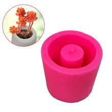 Cement Flower Pot Silicone Mold Home Decoration Crafts Succu