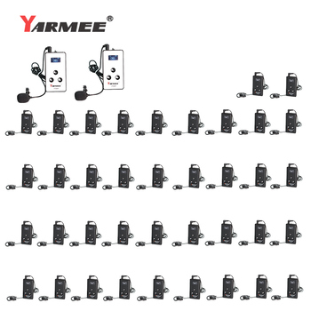 40 Units one set whisper guidance audio guide system museum guide tour guide interpretation tour guide system YARMEE  YT200