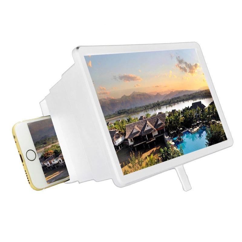 3D Stereoscopic Amplification Amplifier Screen Desktop Bracket Mobile Phone Video Magnifying Glass Screen Amplifier Support