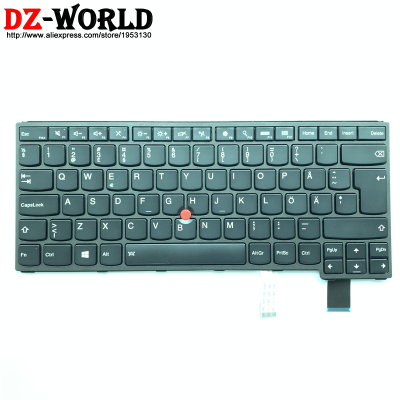 New Swedish Finnish Backlit Keyboard For Lenovo Thinkpad  Yoga 460 P40 Yoga S3 Yoga 14 Sweden Backlight Teclado 00HW826 00HW789
