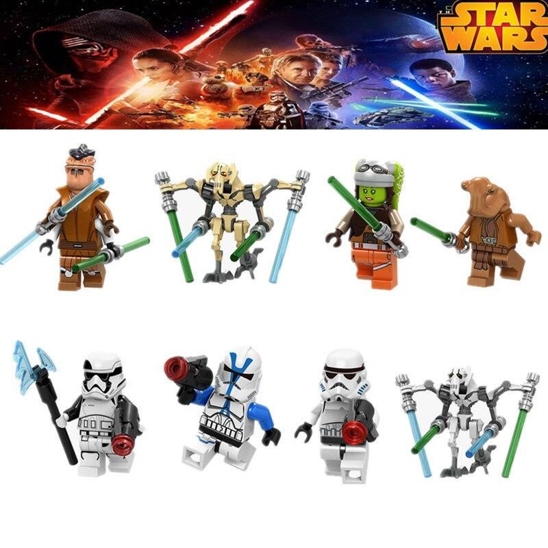 General Grievous Star Wars Heroes Films Building Blocks Toys For Children Game