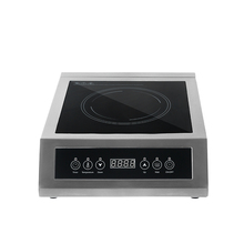 Commercial Induction Cooking Machine Glass Ceramic Heating Electromagnetic Oven Multifunction Cuisine Panel Kitchen