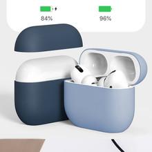 Miękkie silikonowe futerały do Apple Airpods pro etui ochronne Bluetooth bezprzewodowe słuchawki pokrywa Apple Air Pods pro etui z funkcją ładowania torby tanie tanio STARSTRING CN (pochodzenie) Słuchawki Przypadki for airpods pro