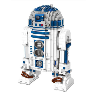Lepining 05043 Star movie Wars Space Out of Print The R2-D2 Robot Model Blocks 2127pcs Bricks Toys Lepining 10225 1