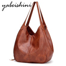 women bag over shoulder crossbody bags for women  PU Leather Tote Vintage handbag bolso mujer bags for women 2019 New sac a main недорого