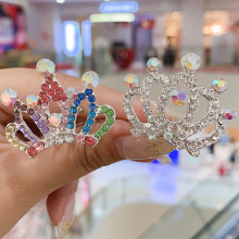 New tiaras and crowns couronne crystals jewelry bijoux baby girls hair accessories clips are fashinable and biling like princess