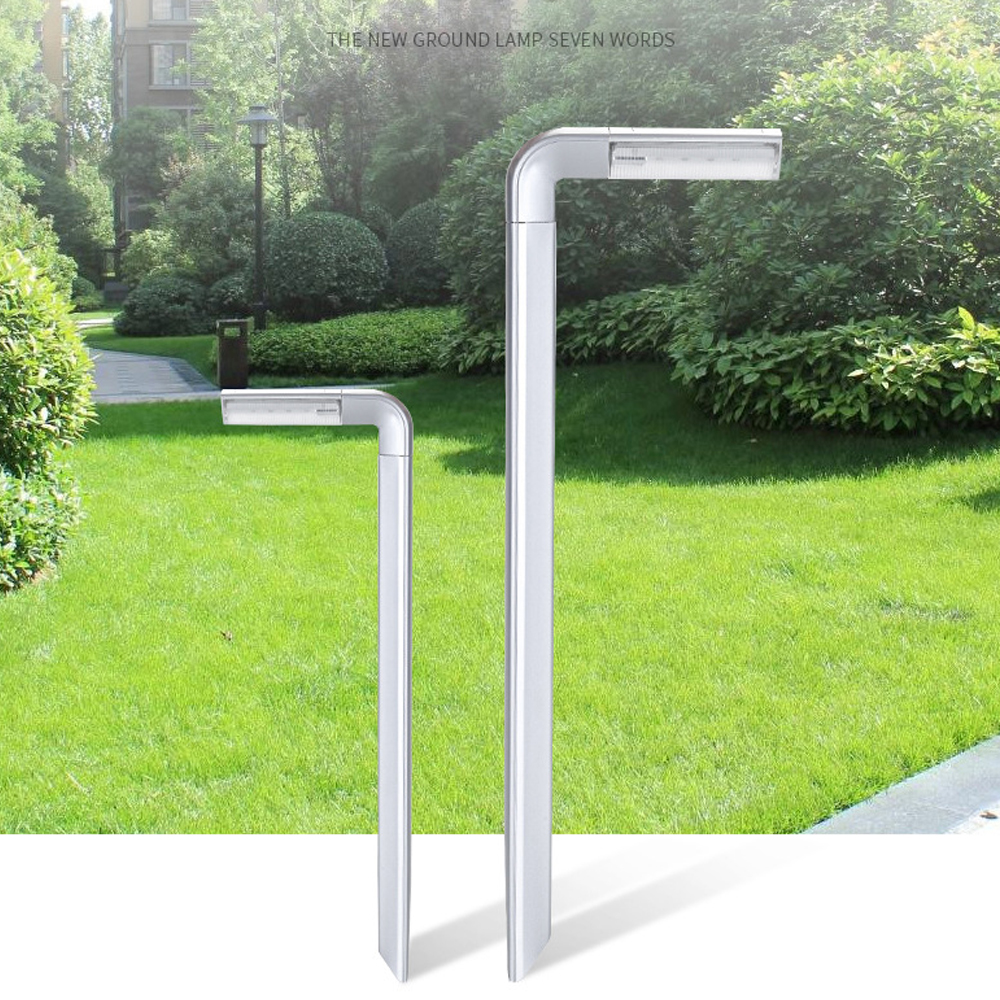 Solar Powered Light Courtyard Ground Lawn Lamp Outdoor Waterproof Wireless 8LED Bulb Garden Decoration Energy Saving Lighting