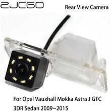 ZJCGO HD CDD Car Rear View Reverse Back Up Parking Waterproof Camera for Opel Vauxhall Mokka Astra J GTC 3DR Sedan 2009~2015 фаркоп opel astra j sedan без электрики 2012