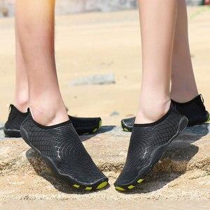 Image 5 - שכשוך שחייה נעליים בחוץ במעלה הזרם חוף נעליים קל משקל רך לנשימה neoprene צלילה נעלי לנשים גברים מים ספורט