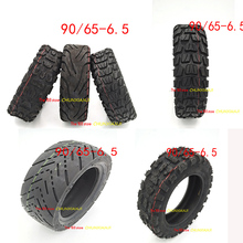 High quality 11 inch tubeless tyre Electric scooter refitted 11 inch 90/65 6.5 thick tire outer tire vacuum Road tire