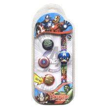 Детские электронные часы disney Складные Часы с четырьмя куклами