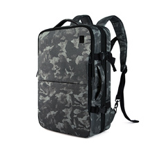 """CAI Camouflage Travel Bag 17.6""""Laptop Luggage Duffle Waterproof Suitcase Business Trip Oxford Overnight Bags Weekend Anti-Theft"""