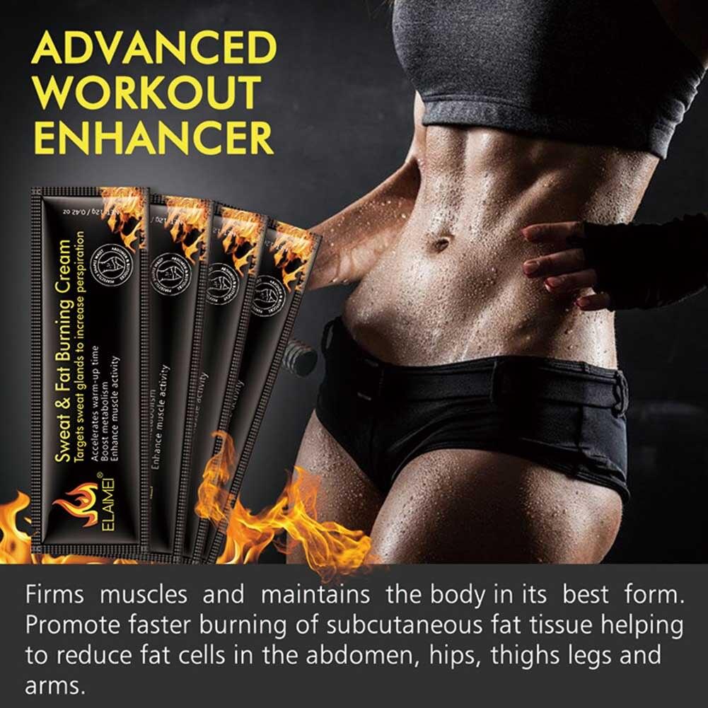 10pcs/box Muscles Leg Patch Vest Line Sweat Male Female Weight Loss Body Fat Burning Cream Abdominal Firming Lipolysis Slimming