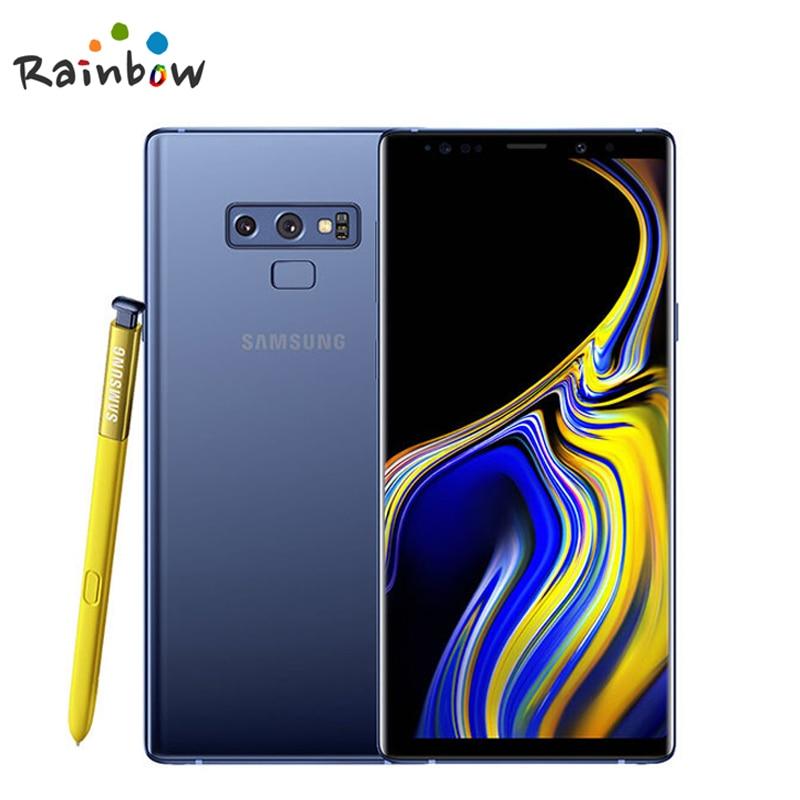 Samsung Galaxy Note9 N960F Note 9 оригинальный разблокирована LTE мобильный телефон Exynos Octa Core 6,4