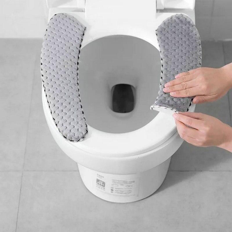 浴室便座クッション Closestool 洗えるソフトウォーマーマットパッド便座便座