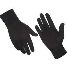 Унисекс перчатки из мериносовой шерсти австралийская мериносовая шерсть Мужские и женские перчатки тепловые влагоотводящие ветрозащитные Размер XS-XL